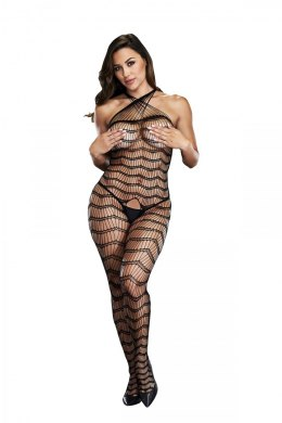BACI BODYSTOCKING BLACK PATTERNED 50008-13